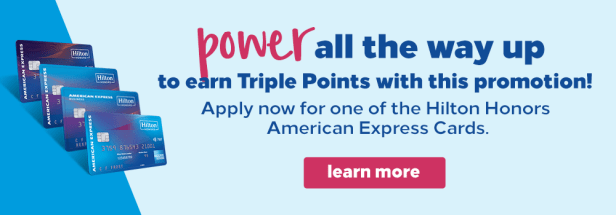 hilton honors hhonors power up double triple points global promo promotion 2x 3x stays stay september 2019 january 2020 credit card american express amex visa classic aspire surpass business dkb german sumitomo mitsui cards