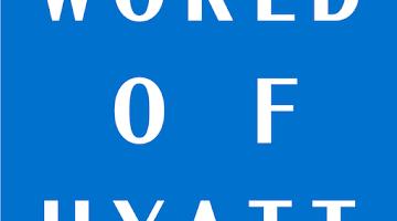 world of hyatt logo promotions hotels offers sale credit points rewards bonus