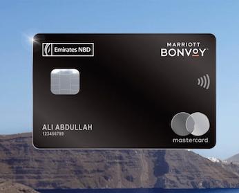 emiratesnbd marriott bonvoy world mastercard credit card elite status annual fee welcome bonus dubai bank uae thepointshabibi