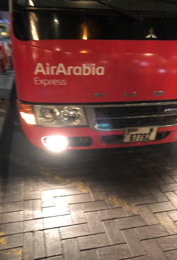 air arabia bus coach express review night travel deira uae thepointshabibi