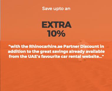 rhinocarhire rhino car hire dubai abu dhabi sharjah ajman uae united arab emirates discount offer coupon off thepointshabibi