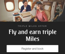 triple emirates skywards miles offer dubai united arab emirates uae flydubai thepointshabibi