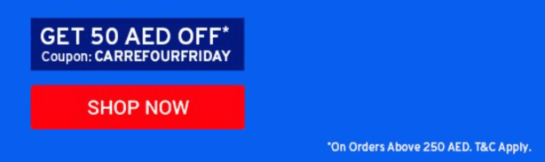 carrefour promo code dubai abu dhabi uae sharjah ajman discount offer deal coupon voucher online order share rewards thepointshabibi aed 50 off