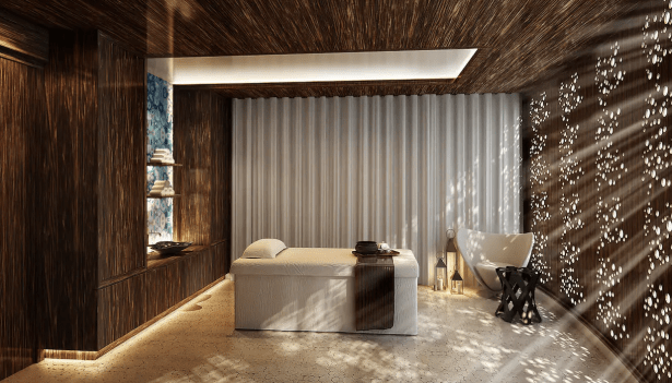 andaz dubai the palm spa world of hyatt bonus points review united arab emirates uae thepointshabibi