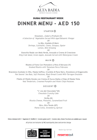 alta badia dinner set menu review drw dubai food festival march united arab emirates uae thepointshabibi