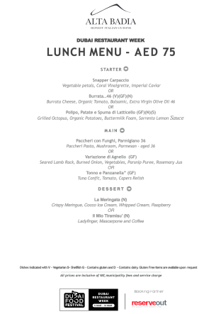 alta badia lunch set menu review drw dubai food festival march united arab emirates uae thepointshabibi