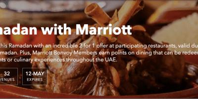 ramadan with marriott iftar offers 2021 dubai abu dhabi sharjah ras al khaimah al ain fujairah uae united arab emirates the points habibi thepointshabibi restaurants bonvoy members earn redeem points