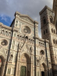 My first sight of the Duomo from the ground