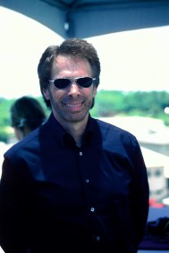 Jerry Bruckheimer was very nice to take a moment to pose for me.