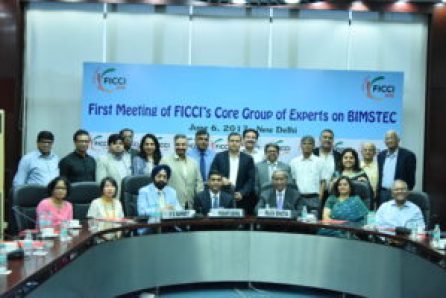 FICCI and India Foundation to organize first-ever international conclave on BIMSTEC to be held in Guwahati from November 2 to 4, 2017