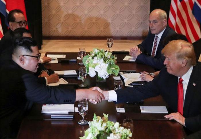 Outcomes of Trump and Kim Summit