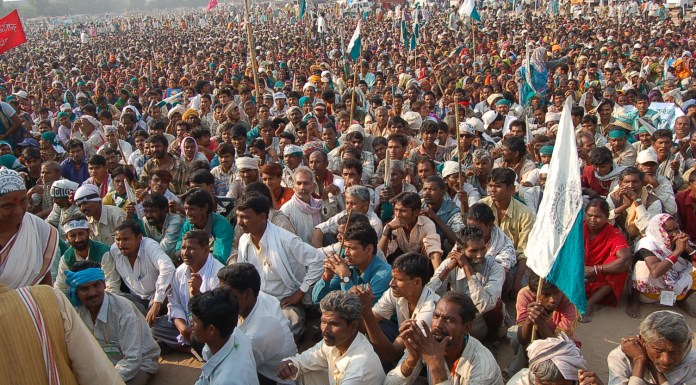 Farmers from across India converging in Delhi for a massive Kisan March