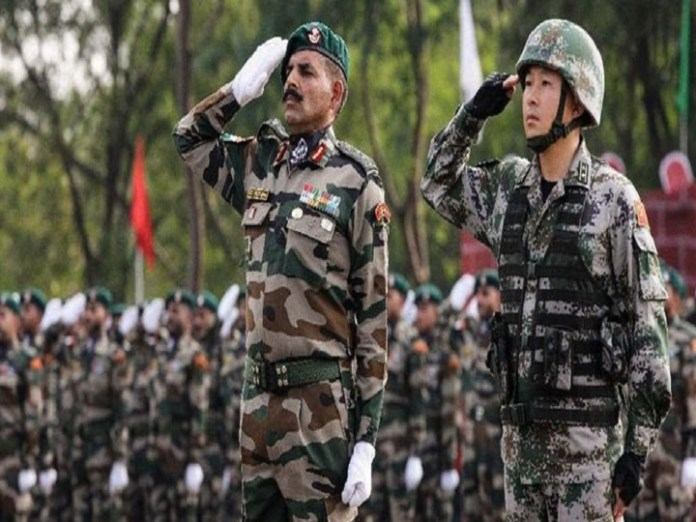India and China 14-day joint military drill kicks off