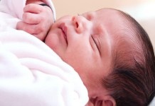 If the newborn is in deep sleep then be alert, can go to the child's life