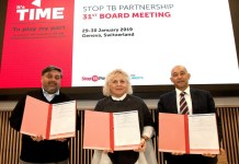 IHF with Stop TB Partnership signs MoU to fight against TB