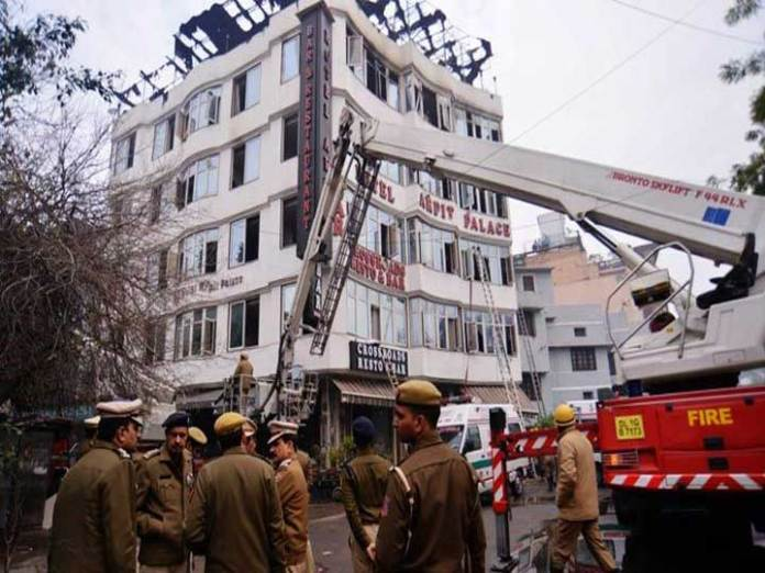 Karol Bagh fire: Hotel owner most likely from BJP, says AAP Minister