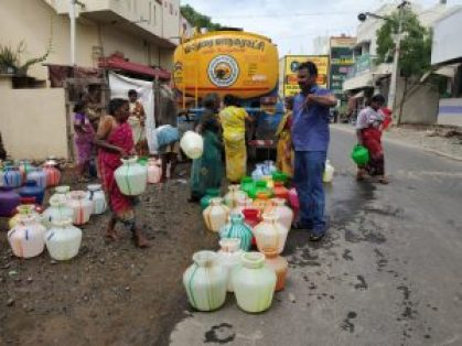 the Chennai water crisis