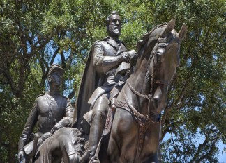 Confederate statues in search of a new home