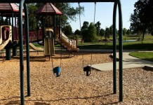 Empty playgrounds, where are the children
