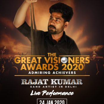 Rajat Kumar in The Great Visioners Award 2020