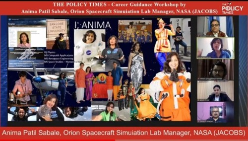 Career Guidance Student Webinar by NASA.the policy times