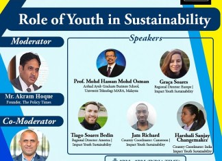 Experts Talk on Role of Youth in Sustainability Sustainability is much Bigger and Broader than Biodiversity or Climate Change _The Policy Times