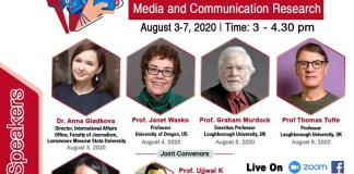 Webinar Series on Media and Communication Research by Global Stalwarts Begins from August 3. The policy times