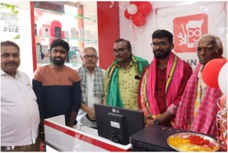 Phixman's  93rd Store Launch at Warangal. the policy times