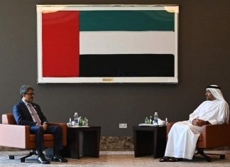 Bangladesh State Minister for Foreign Affairs Shahriar Alam held bilateral meeting with his UAE counterpart the policy times
