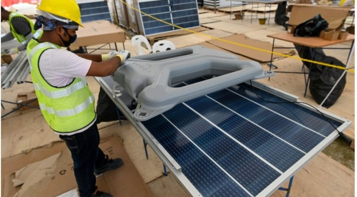 Singapore in the New Race of Building Floating Solar Farms amid Climatic Crisis THE POLICY TIMES