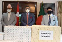 Bangladesh Handed over Medicines & Health Protection Items to the Nepalese Ambassador in Dhaka the policy times
