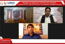 "South Asia Education Council Initiative Webinar :""Tricks & Tactics for Competitive Advantages in Upcoming Board Exams"" the policy times"