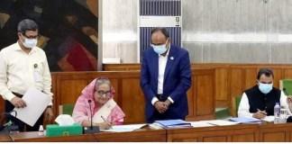 Bangladesh Finance Minister places Tk 6,03,681cr budget for FY22 in Jatiya Sangsad
