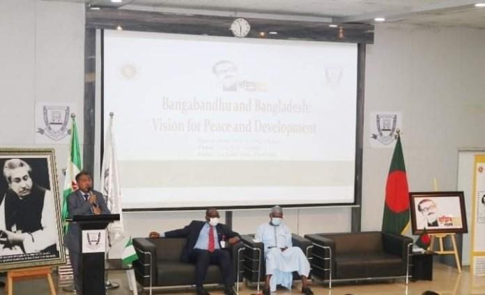 Bangabandhu and Bangladesh : Vision for Peace and Development' Titled Seminar Held By Bangladesh High Commission Nigeria