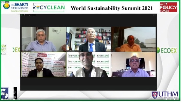 """""""People's narrative brings the change and reinstalling Indian traditional value could bring biggest change on climate action"""" says NITI Aayog Vice Chairman at WSS 2021"""
