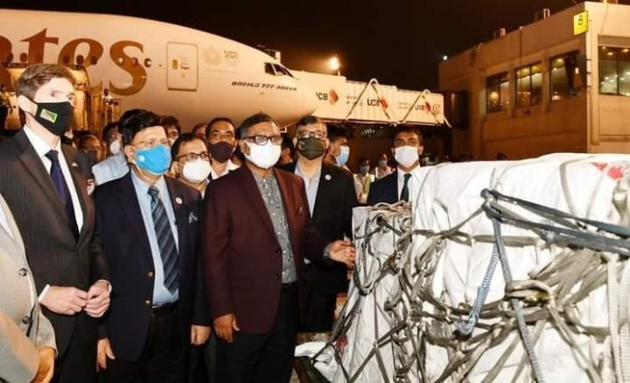 Delivery of U.S.-donated Vaccines through COVAX:U.S. Applauds the Shipment ofModernaVaccines to Bangladesh