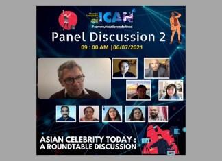DrSojeong Park from South Korea, Ms Rio Katayama from USA, DrJianXu, Dr Vikrant Kishore and Prof Sean Redmond from Australia critically examine Asian Celebrity