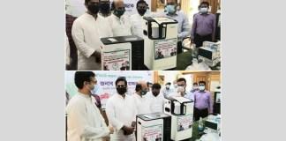 MP Nahim Razzak's medical supplies in Shariatpur on behalf of Abdur Razzak Foundation combating against Covid-19