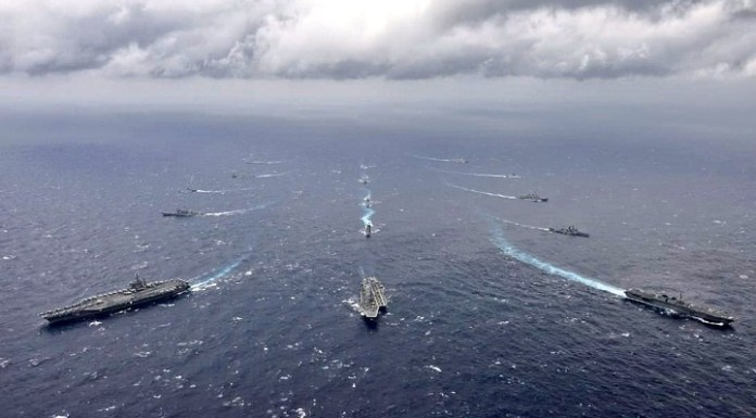 India, Japan, Australia, and the United States launches annual maritime exercise Malabar