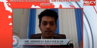 Global Innovators and Start-up Series With Mr Siddhesh Khanolker, Techno-commercial Lead for Enterprise Solutions of Netix Controls