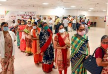Covid-19; Centre shows concern about low immunization rates among women