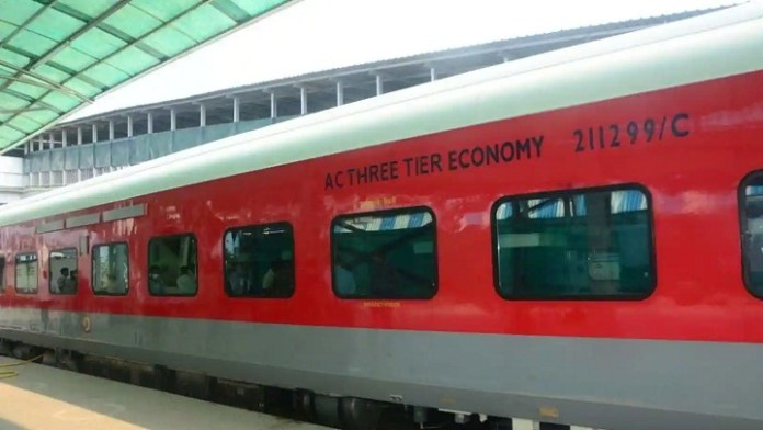 Indian Railway's new AC-3 tier economy coach's begin in Prayagraj-Jaipur Express