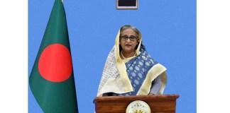 Bangladesh PM Sheikh Hasina places six-points proposal to ensure sustainable future