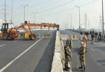Bharat Bandh: Delhi Police halts traffic movement from Uttar Pradesh to Ghazipur