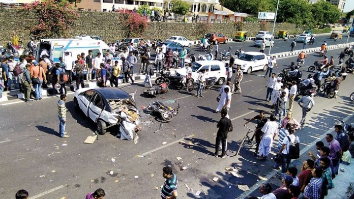 1.21 million deaths in 2020, on average 328 deaths daily due to traffic accidents: Report