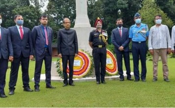 REMEMBRANCE AT COMMONWEALTH WAR CEMETERY CHITTAGONG