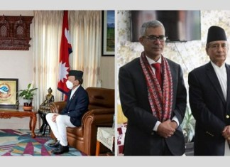 Ambassador of Bangladesh calls on Foreign Minister and Law Minister of Nepal