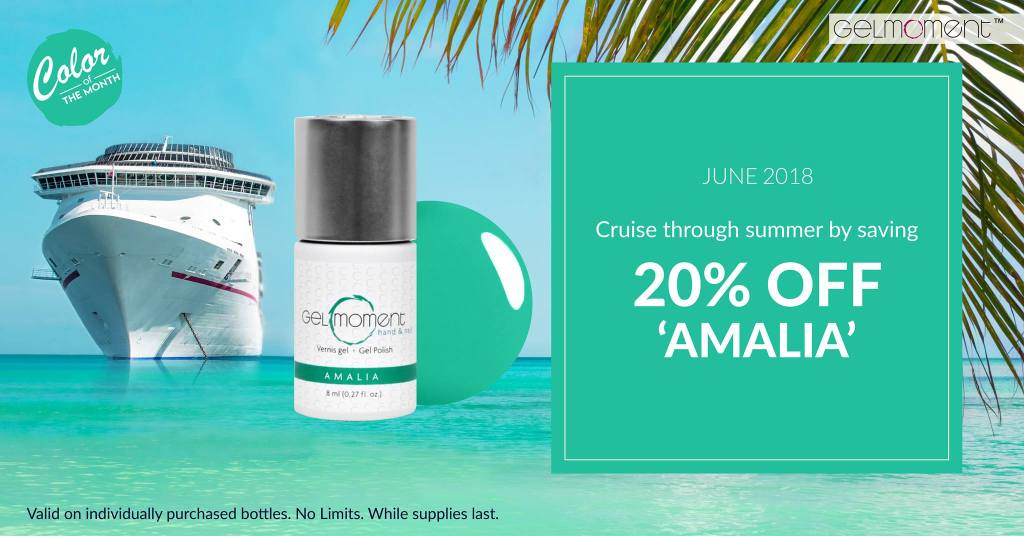 GelMoment Color of the Month july 2018 Amalia