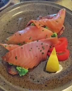 Avocado Toast with Local Smoked Salmon on Sourdough