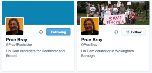 Prue Bray Twitter